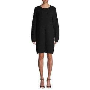 NEW H by Halston Dropped Shoulder Sweater Dress